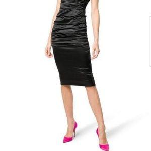 Dresses & Skirts - Mint condition Black satin dress
